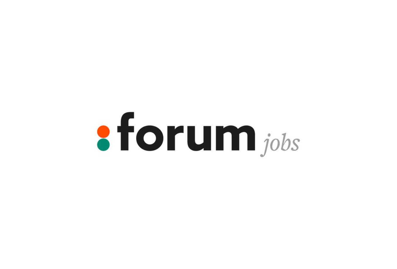 Forum Jobs pakt uit met nieuw logo en huisstijl